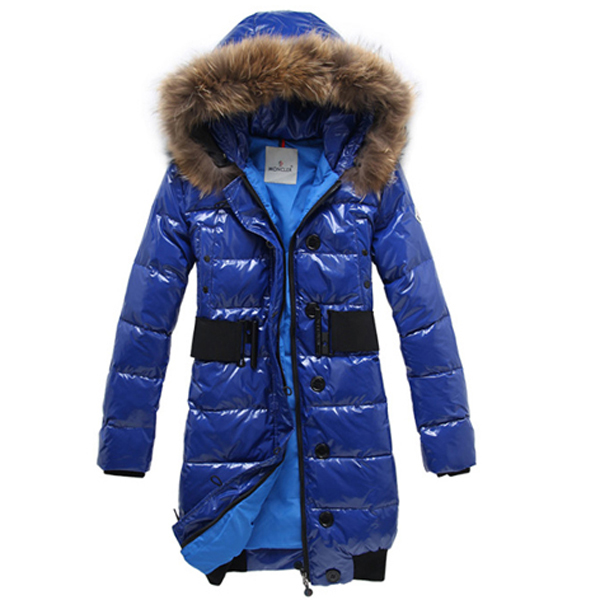 Moncler Lucie New Pop Star Women Coat Blue For Sale