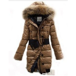 Moncler Lucie New Pop Star Women Coat Brown For Sale