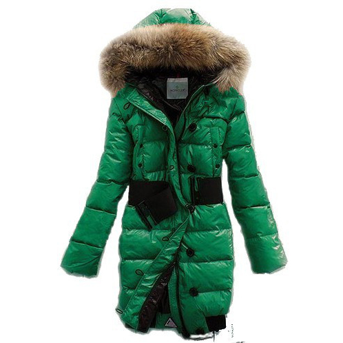 Moncler Lucie New Pop Star Women Coat Green For Sale