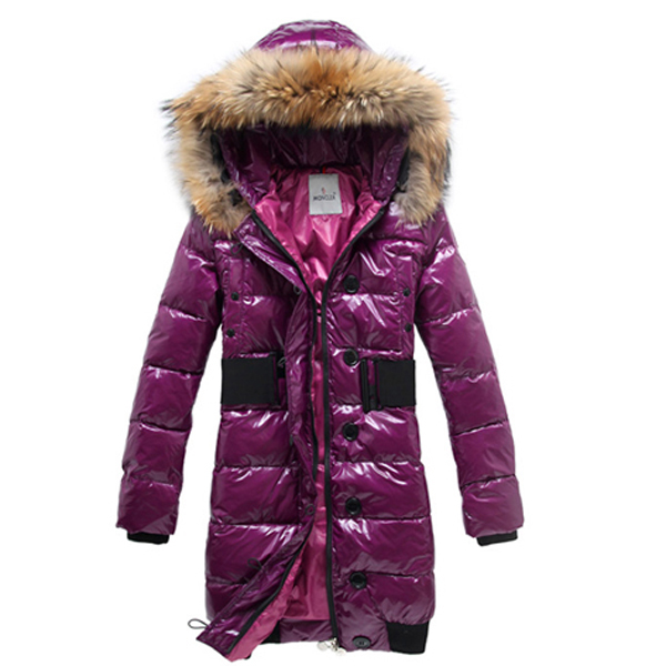 Moncler Lucie New Pop Star Women Coat Violet For Sale