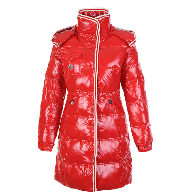 Moncler Manche Women Coat Red For Sale