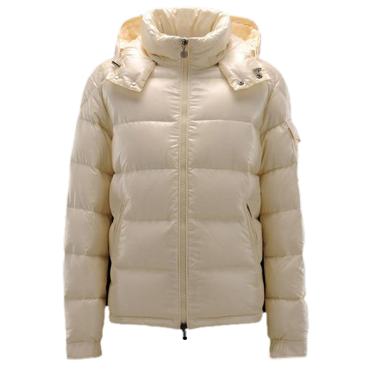Moncler Maya Men Jacket Cream For Sale