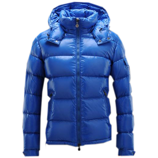 Moncler Maya Men Jacket Light Blue For Sale