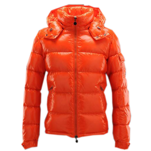 Moncler Maya Men Jacket Orange For Sale
