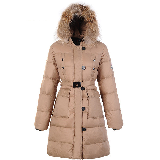 Moncler Melina Women Coat Khaki For Sale