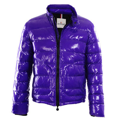Moncler Men Down Jacket Purple For Sale