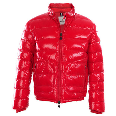 Moncler Men Down Jacket Red For Sale