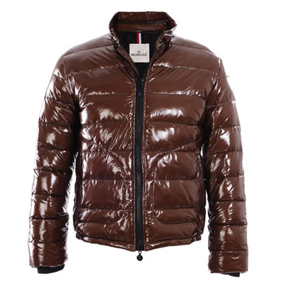 Moncler Men Down Jacket Reddish For Sale