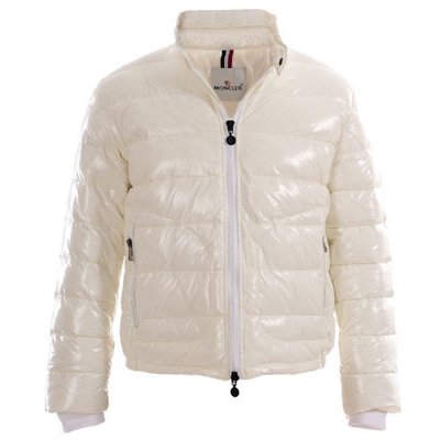 Moncler Men Down Jacket White For Sale
