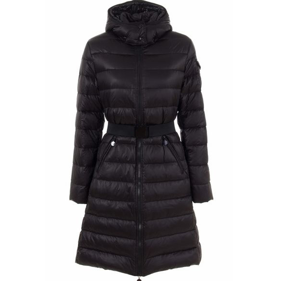 Moncler Moka Women Coat Black For Sale