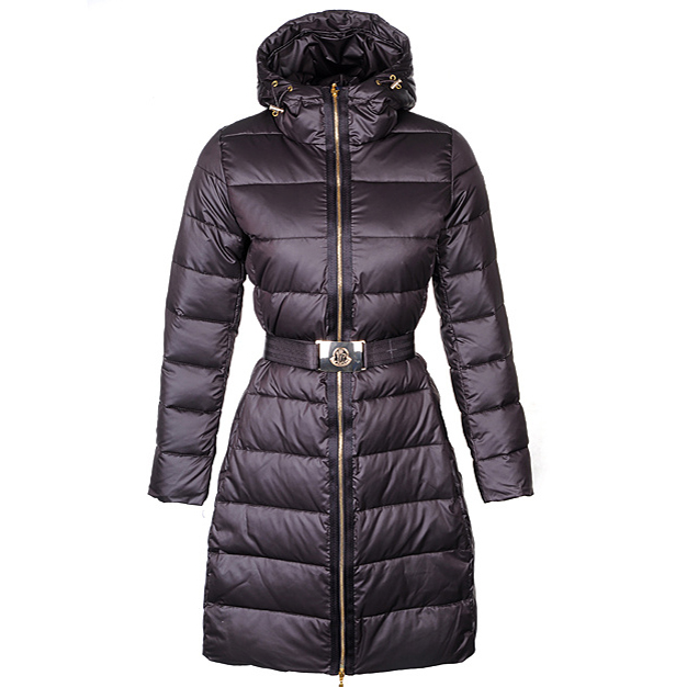 Moncler Nantes Women Coat Coffee For Sale