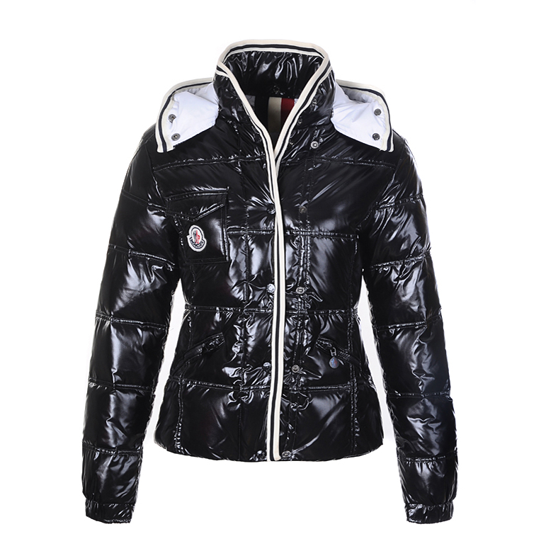Moncler Quincy Women Jacket Black For Sale