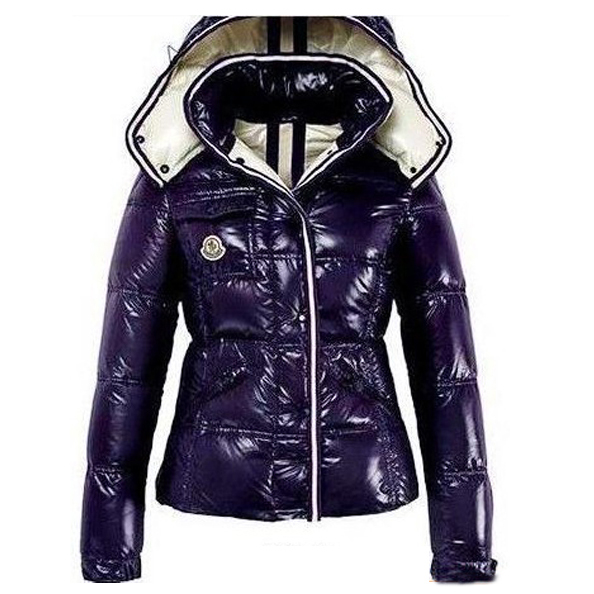 Moncler Quincy Women Jacket Purple For Sale