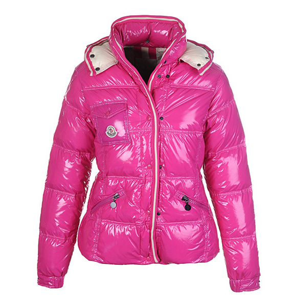 Moncler Quincy Women Jacket Rosy For Sale