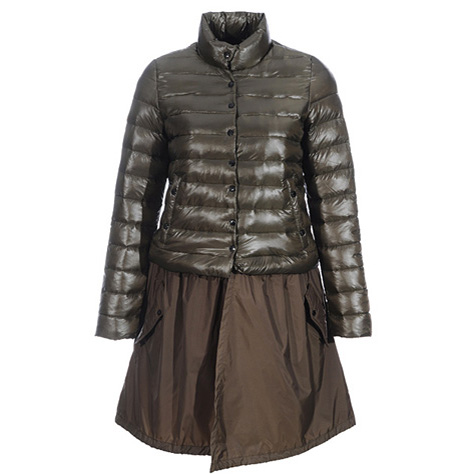 Moncler Satomi Women Coat Green For Sale