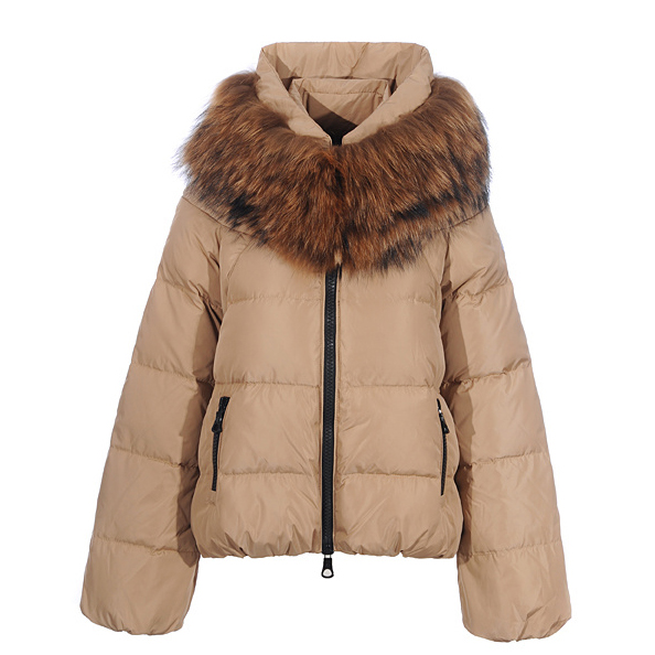 Moncler Sauvage Women Jacket Khaki For Sale