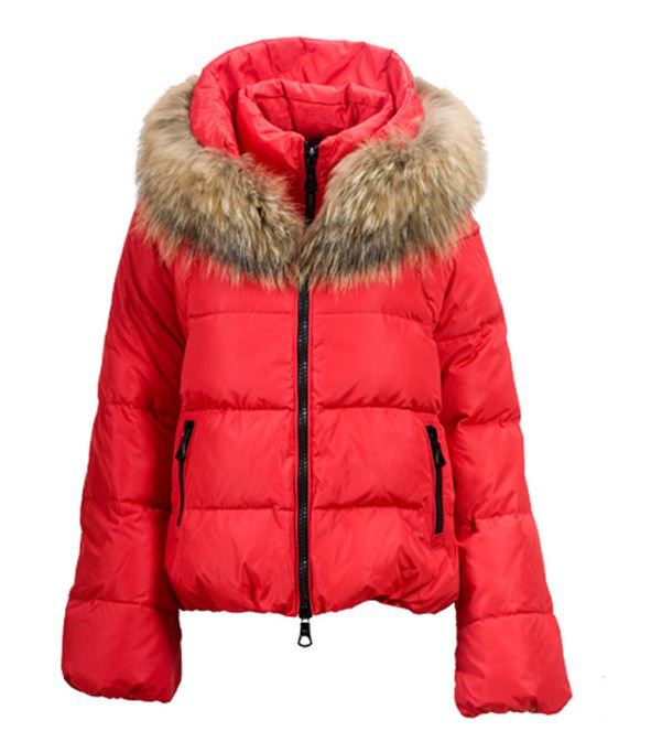 Moncler Sauvage Women Jacket Red For Sale