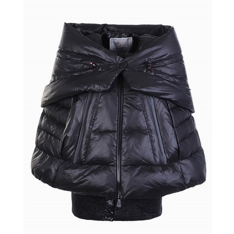 Moncler Shawl Women Jacket Black For Sale