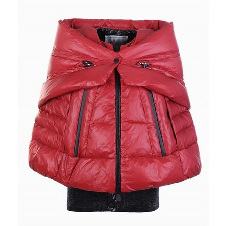 Moncler Shawl Women Jacket Red For Sale