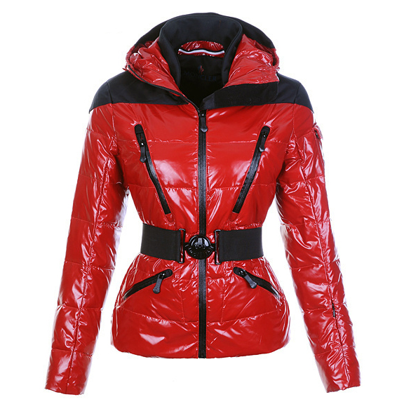 Moncler Ski Women Jacket Red For Sale