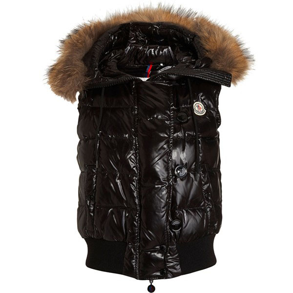 Moncler Tarn Women Vest Black For Sale