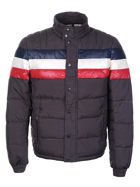 Moncler Technical Men Jacket Brown For Sale