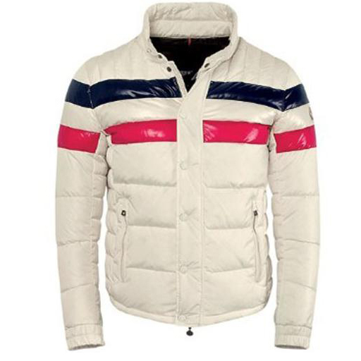Moncler Technical Men Jacket Cream For Sale