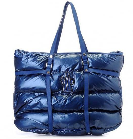 Moncler Tote Bags Blue For Sale