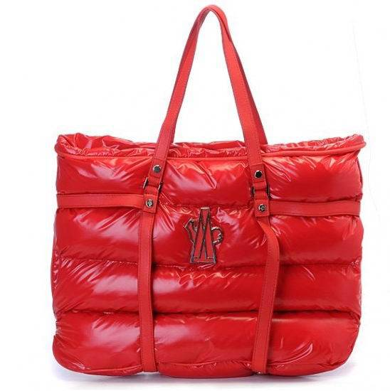 Moncler Tote Bags Red For Sale