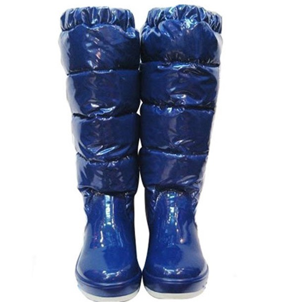 Moncler Women Boot Blue For Sale