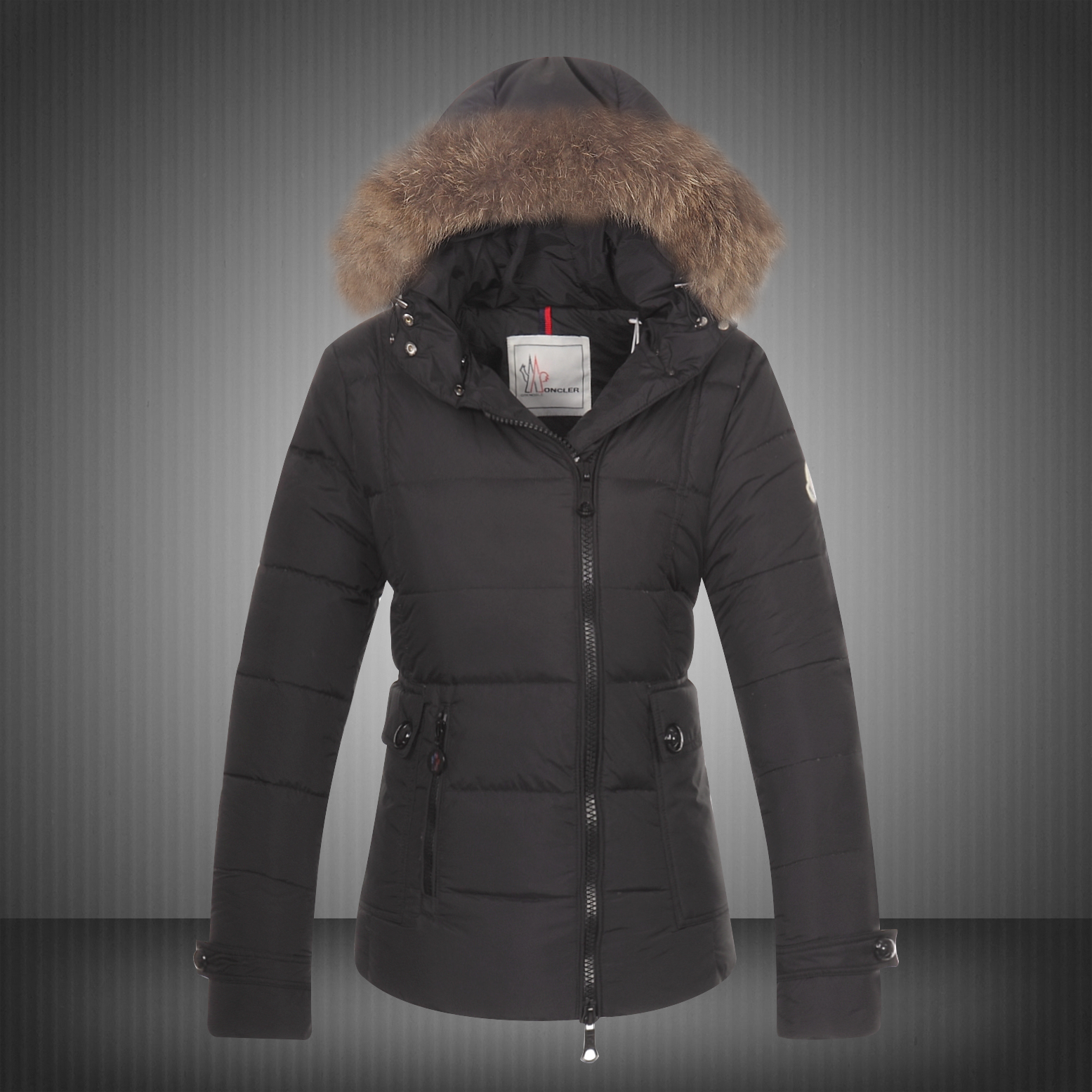 Moncler Bryone Down Jacket For Women Black
