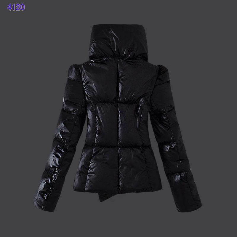 Moncler Euramerican Style Jackets Womens Black