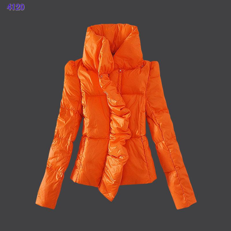Moncler Euramerican Style Jackets Womens Orange