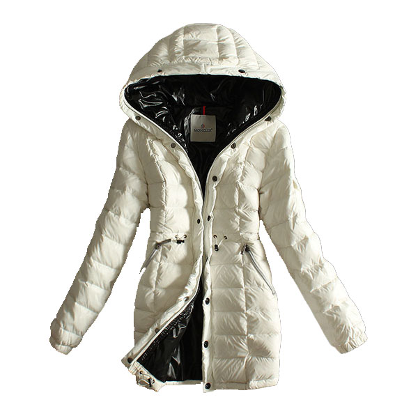 Moncler Women's Coat Hooded White