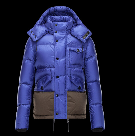 New Moncler Chamonix Jackets Blue