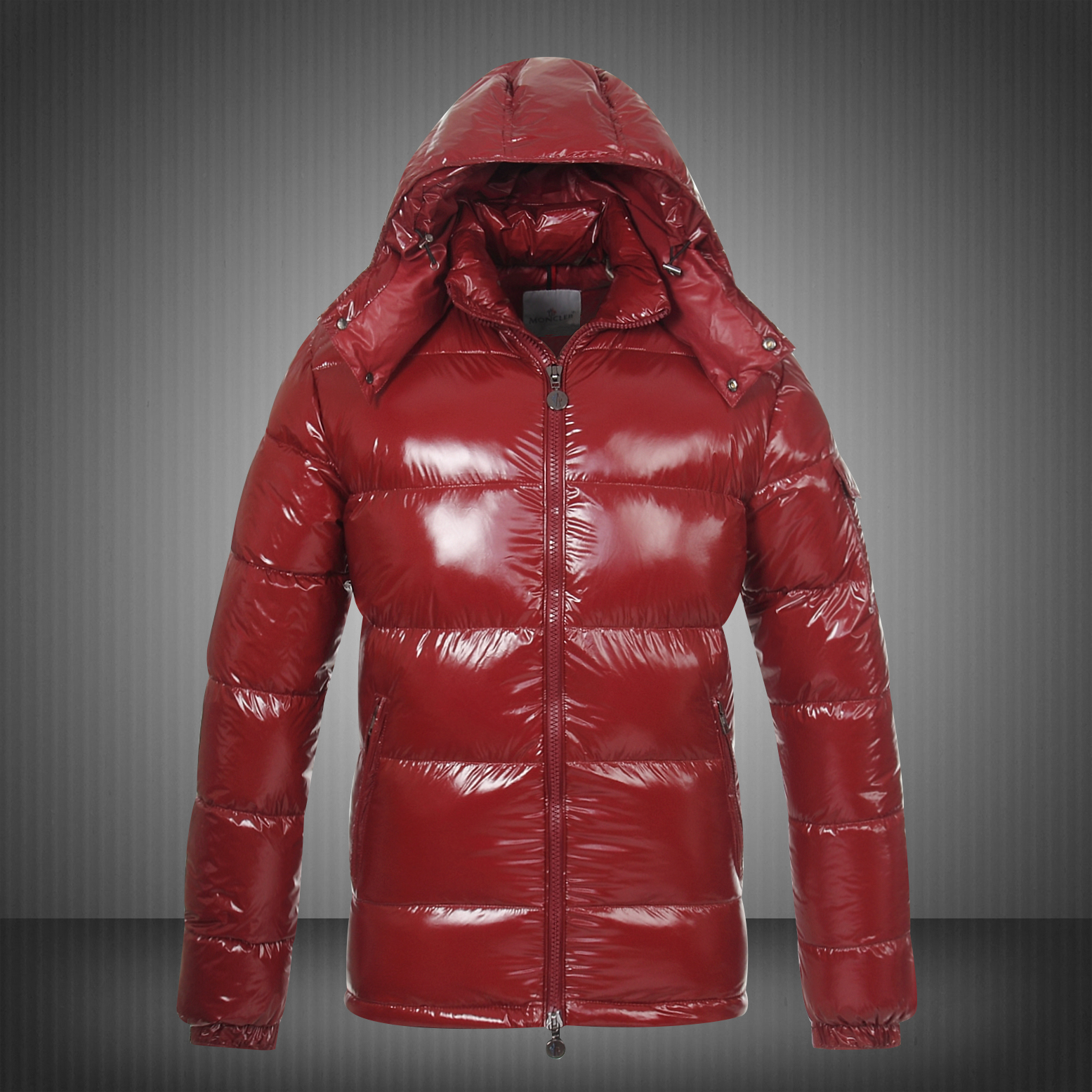 New Style Moncler Maya Mens Down Jackets Red
