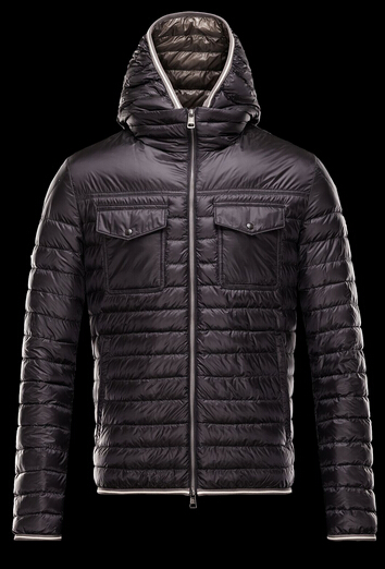 CLOVIS Jacket Men's Hooded Jacket Winter Black