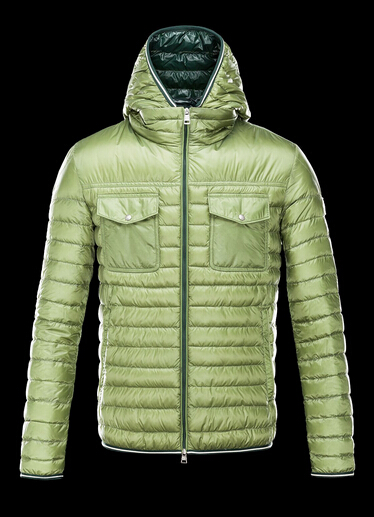 CLOVIS Jacket Men Hooded Jacket Winter Green