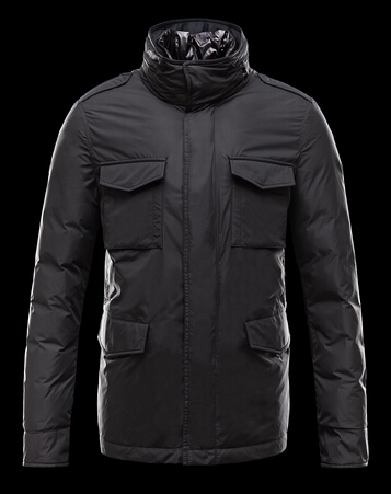Moncler Men's Hector Jacket Black Pas Chere
