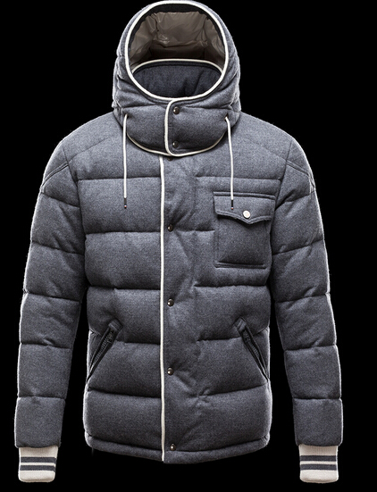 Moncler Men Bresle Winter Gray
