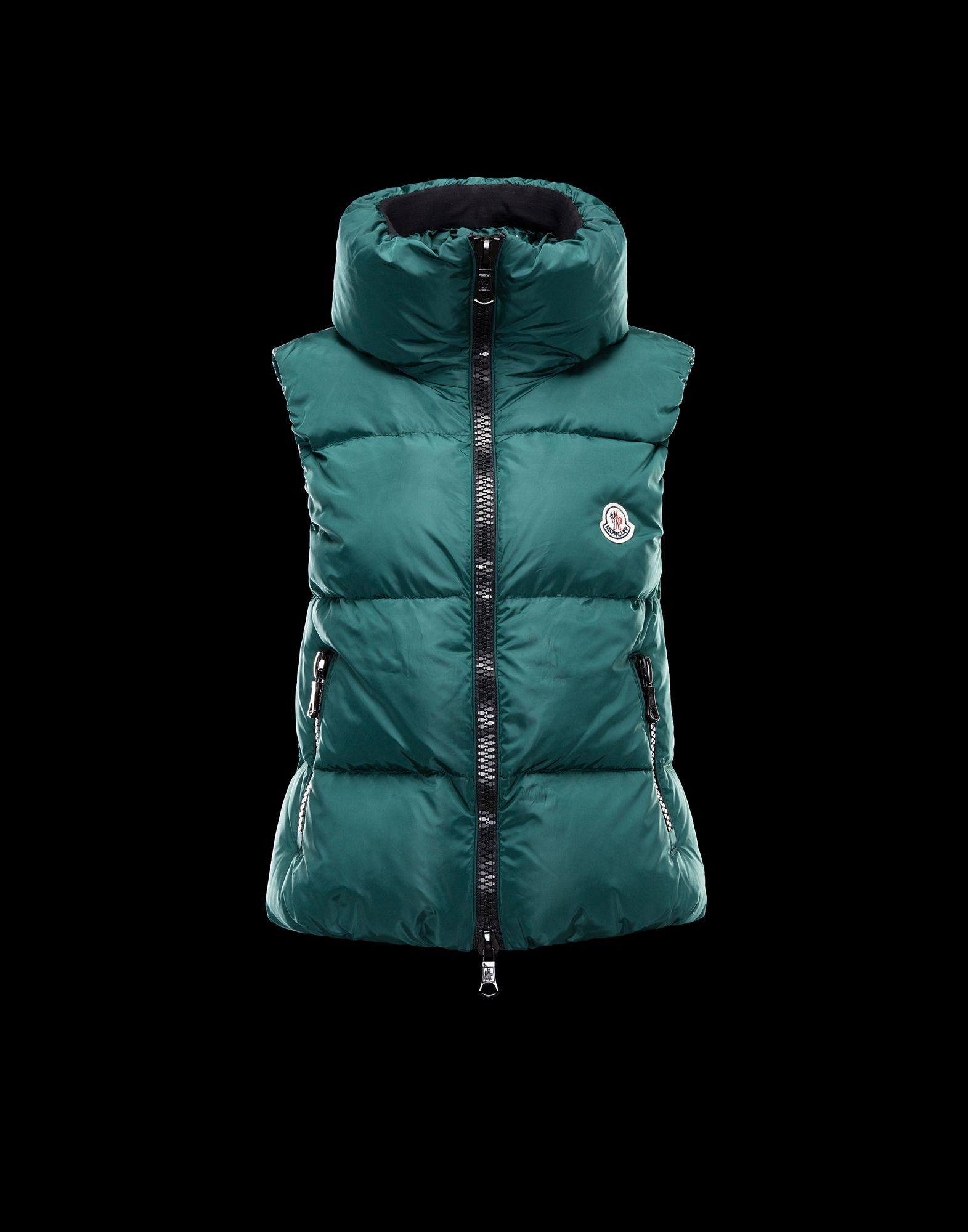 MONCLER PETY Down Jacket Women Green