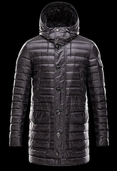 Moncler Down Jacket BENJAMIN Men's Hooded Jacket Black