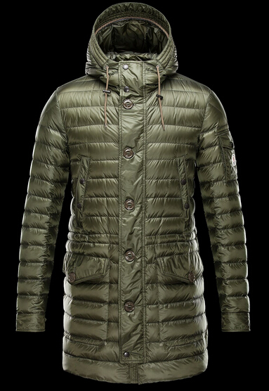 Moncler Down Jacket BENJAMIN Men's Hooded Jacket Green
