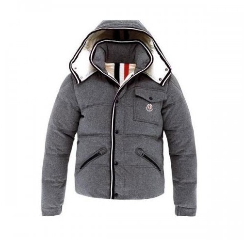 Moncler Branson Men's Hooded Jacket Gray