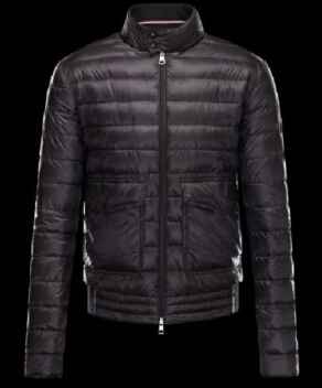 Moncler Faurge jacket men's jacket black
