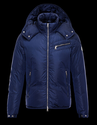 Moncler Men's Hooded Jacket Men's Hooded Jacket Blue