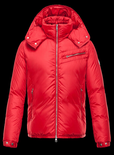 Moncler Men's Jacket BRAD Hoodie Men's Jacket Red