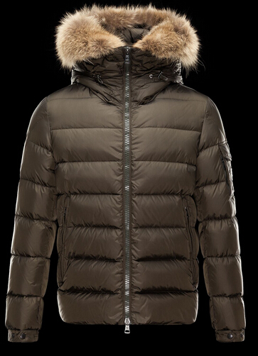 Moncler Men Down Jacket Byron Fur Hooded Parka Price