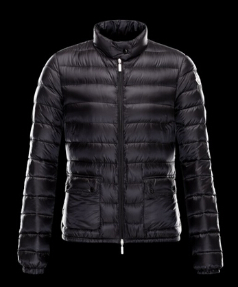Moncler Lans Women's Winter Coat Black Parka
