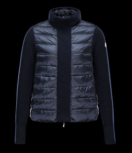 Moncler Winter Coat Winter Womens Turtleneck Parka Blue Price